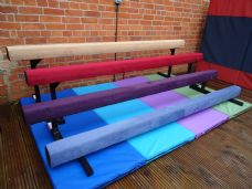 "8FT - 2.4MTR (12"" High) Gymnastic Balance Beam - 'NEW COLOURS'"